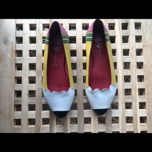 """Jeffery Campbell """"Pencil Me In"""" Flats 7.5"""